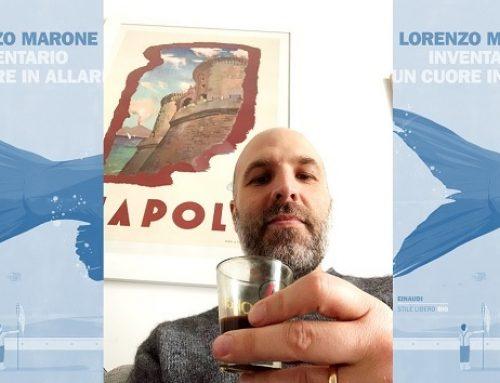 """Un caffè con Lorenzo Marone: una solare intervista """"anti-corona virus"""""""