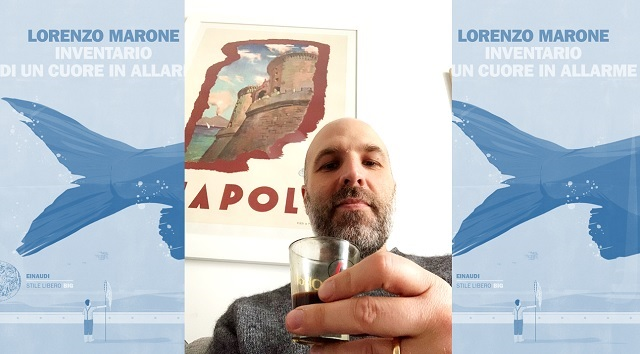Un caffè con Lorenzo Marone una solare intervista