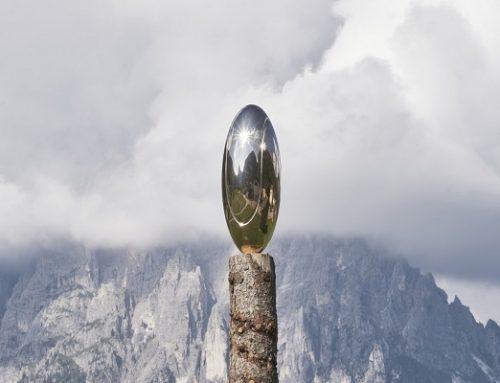 Una boccata d'arte: inaugurata l'installazione Arkanians di Luca Pozzi