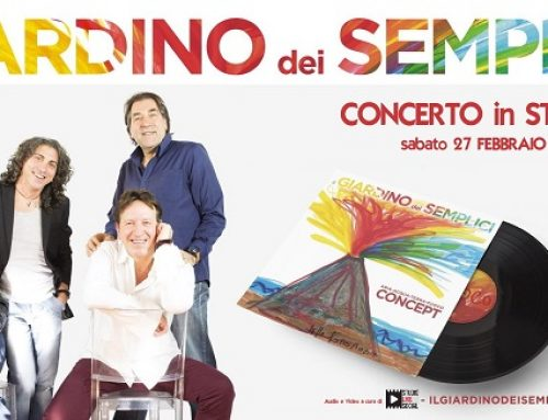Il Giardino Dei Semplici in Concerto in streaming il 27 febbraio alle 21.30