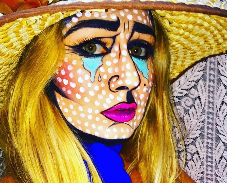 Make-up Pop Art by Antonio Ciaramella