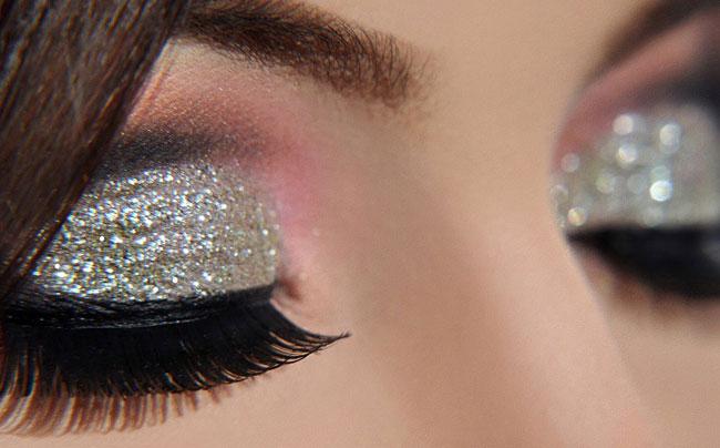 make up glitterato-idee-capodanno-2017