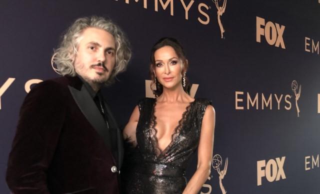 Matteo Perin Sofia Milos Emmy Awards 2019