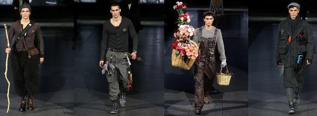 Milano Moda Uomo 2020-21 D&G