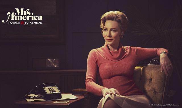 """Cate Blanchett all'anteprima italiana della serie """"Mrs. America"""""""