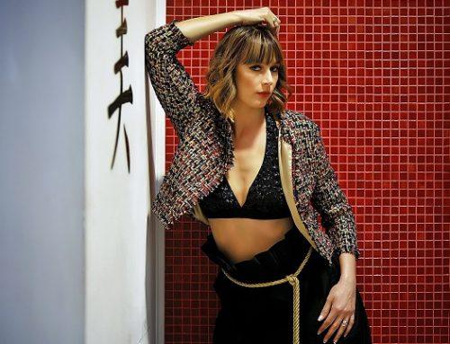 Triade glamour per Fabiana Gabellini con la top model Andreea Duma