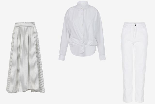 Come indossare il total white Pomandère