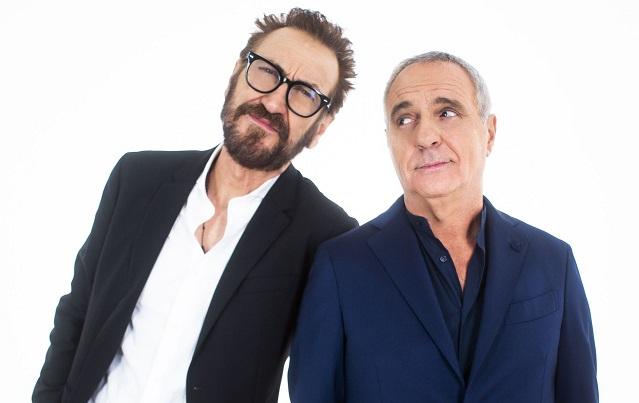 Marco Giallini e Giorgio Panariello in