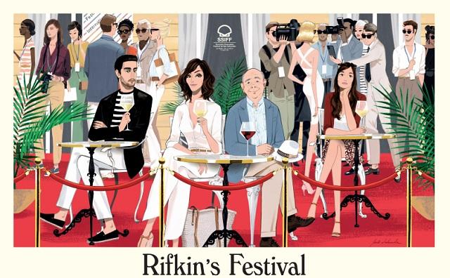 Rifkin s Festival solo al cinema dal 6 maggio (Vision Distribution)