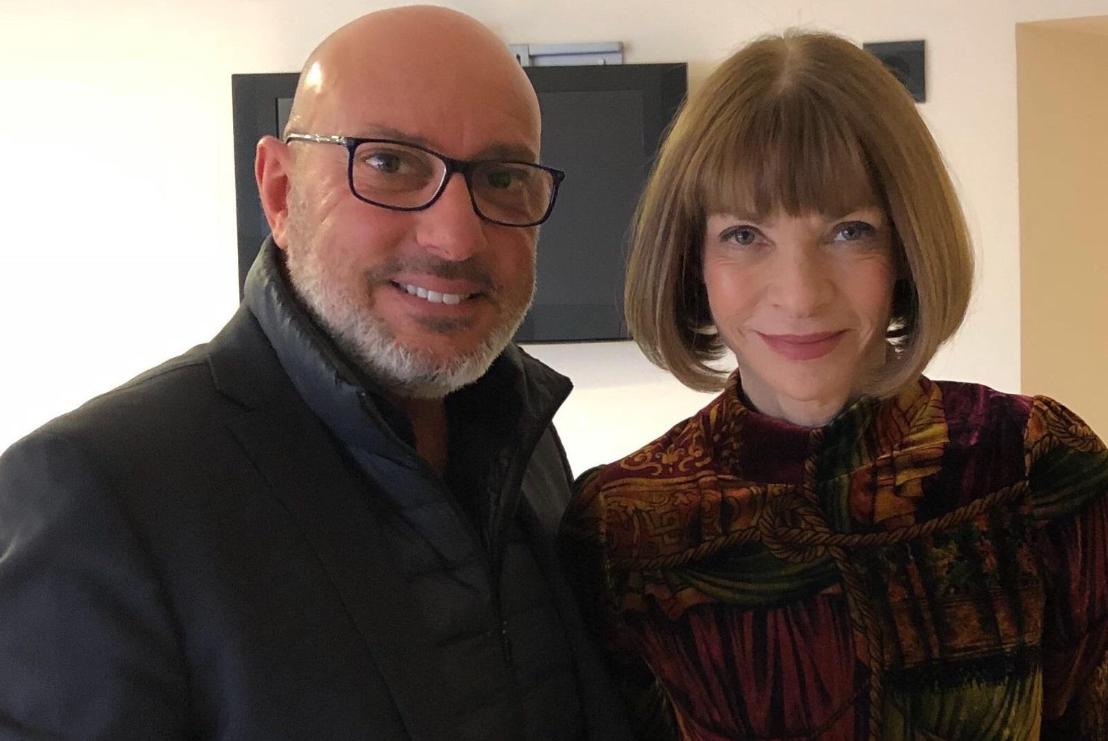 Anna Wintour e Roberto Carminati