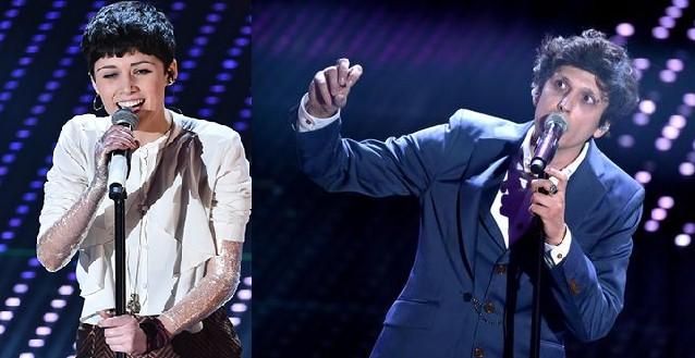 Sanremo 2016 seconda serata: Chiara Dello Iacovo e Ermal Meta
