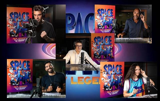Space Jam: New Legends - le guest star della squadra delle voci italiane