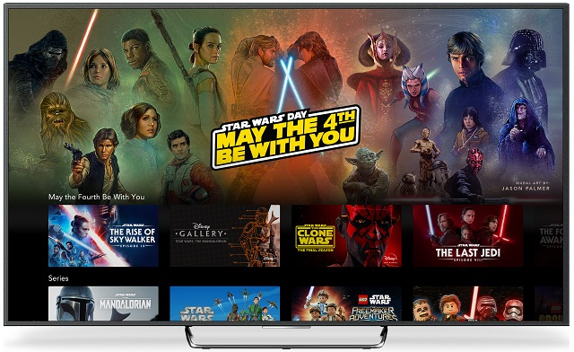 Star WarsDay May the Fourth be with you su Disney +
