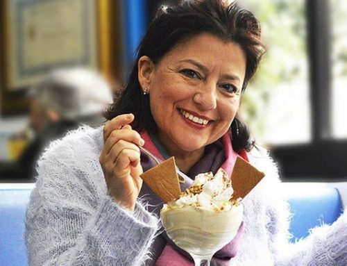 """Al """"Super mago del gelo"""" di Polignano a Mare il gelato è al gusto """"Volare"""""""