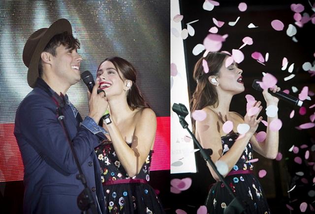 Jorge Blanco e Martina Stoessel