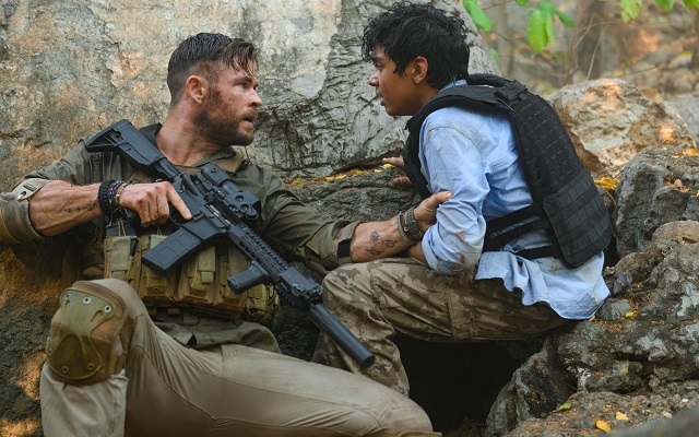 Tyler Rake l'adrenalinico action movie Netflix con Chris Hemsworth