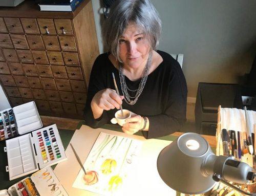 Un caffè con Mirka Perseghetti: Goccioline di creatività Made in Italy