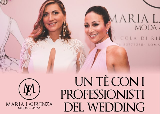 Un tè con i professionisti del wedding