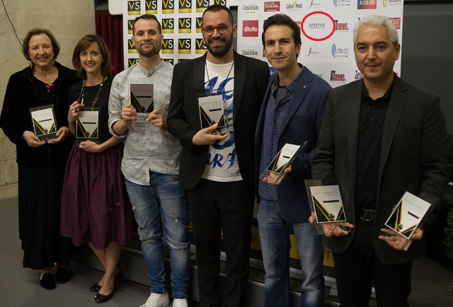 vincitori della 1a edizione del Voce Spettacolo film festival