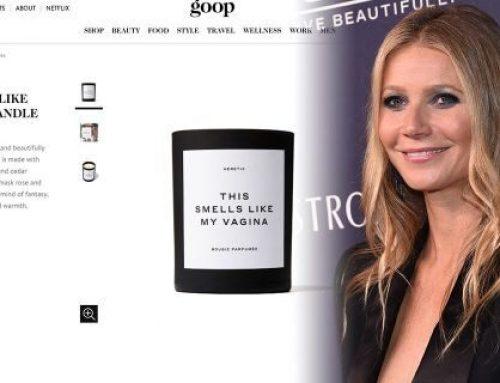 """Gwyneth Paltrow lancia sul suo sito Goop la candela """"essenza di vagina"""""""