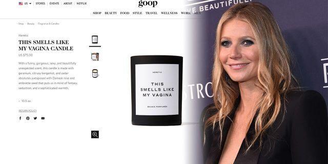 Gwyneth Paltrow lancia sul suo sito Goop la candela