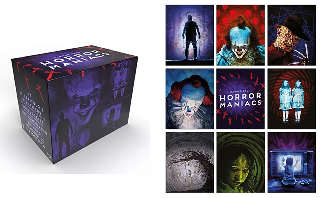 Novità Warner Bros. Horror Maniacs e DC 8 Film Collection Box Set