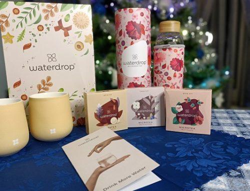 Waterdrop®: la rivoluzione nel rito del te e che ti aiuta a bere di più