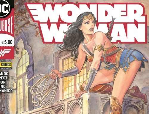 Inizia l'era DC PANINI COMICS con WONDER WOMAN 'Titans Of Cult'