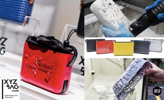 Accessori fatti con stampanti 3D il successo di XYZBag di Torino