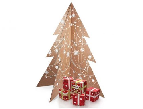Albero di Natale It's a white Christmas: l'albero smart e ecosostenibile