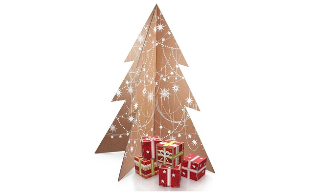 Albero di Natale It's a white Christmas l'albero smart e ecosostenibile