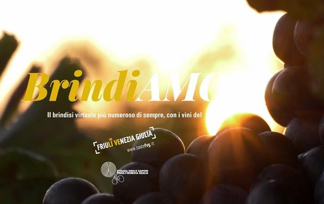 BrindiAMO FVG in mille da 30 Paesi per brindare con i vini bianchi friulani