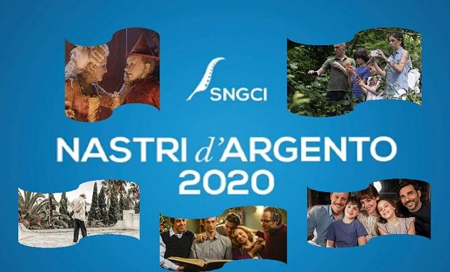 Nastri d'Argento 2020 tutte le candidature della 74.ma edizione