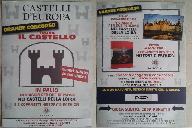 De Agostini Castelli d'Europa