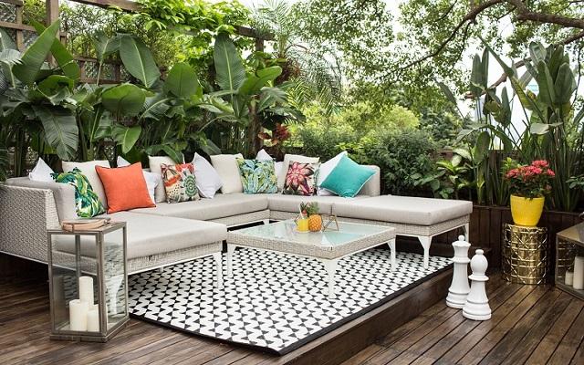 Come arredare il terrazzo o giardino in modo semplice e creativo