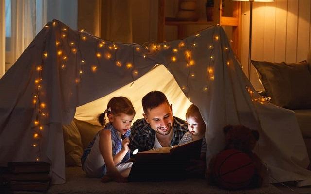 Come realizzare un campeggio fai-da-te in casa per la Festa del papà
