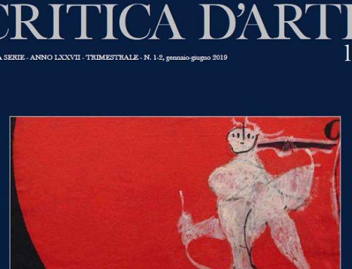 Critica D'Arte: presentata la nuova serie della storica e prestigiosa rivista