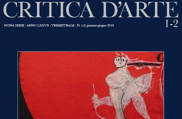 Critica D'Arte presentata la nuova serie della storica e prestigiosa rivista