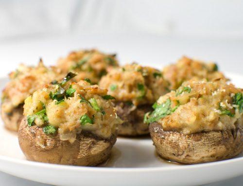 Funghi ripieni al forno: una ricetta semplice e golosa