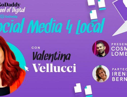 Social media 4 local: il nuovo appuntamento con la formazione di GoDaddy