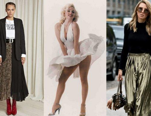 Gonna plissettata: per outfit super trendy e perfetti per ogni fisico