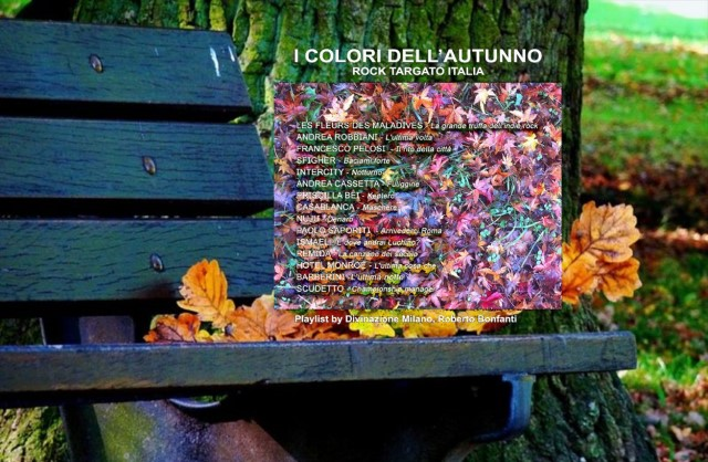 i colori dell'autunno playlist rock targato Italia