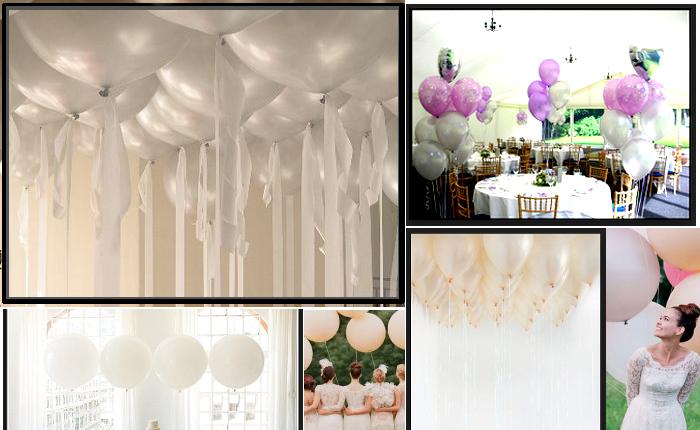 Palloncini matrimonio le idee per rendere magico il - Decorazioni matrimonio palloncini ...