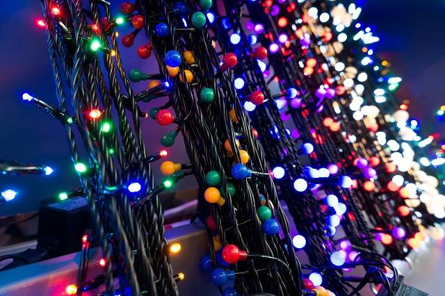 illuminazione natalizia luci