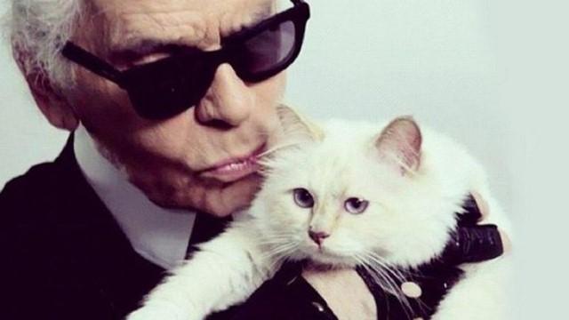 Karl Lagerfeld addio