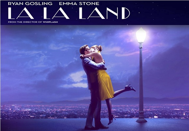 la la land golden globes