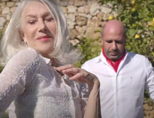 La Vacinada: Helen Mirren entusiasta della collaborazione con Zalone