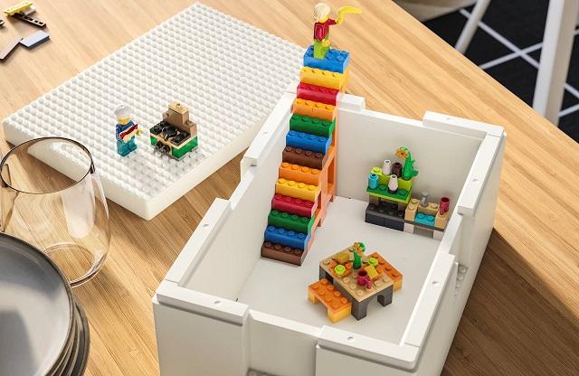BYGGLEK il set gioco ideato da IKEA e LEGO per riordinare le camerette