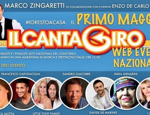 Il Cantagiro versione web per festeggiare insieme il Primo Maggio