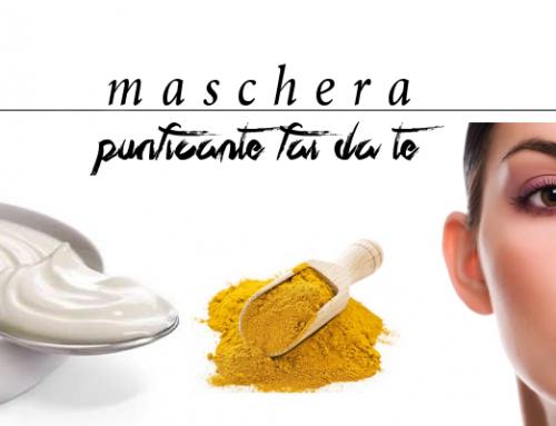 Maschera purificante viso fai da te: yogurt e curcurma
